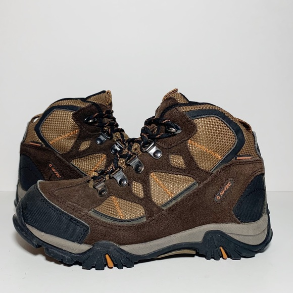 Boys Girls Childrens Kids Hi-Tec Waterproof Lace Up Walking Boots Renegade Trail